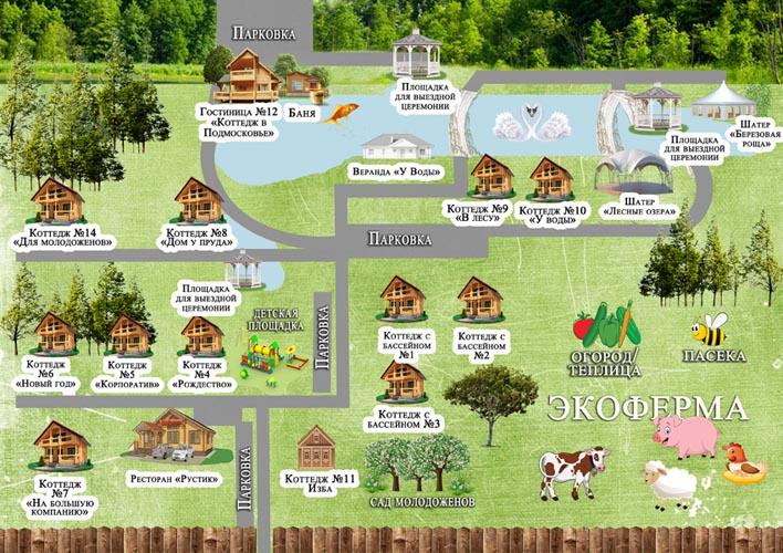 Карта 2020 года деревни маево